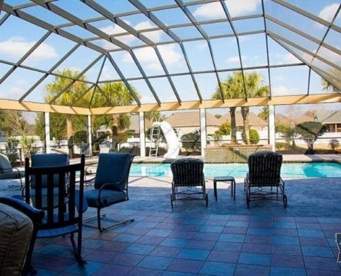 Pool Enclosure mobile al